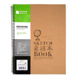 16K A4 A3 Vintage Drawing Pad Sketch Book 110gsm / 40 Sheets