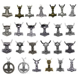 22 Different Thor Hammer Necklaces