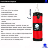 Martial Arts MMA Sandbag Punching Bag Made of High Quality Oxford Cloth Material