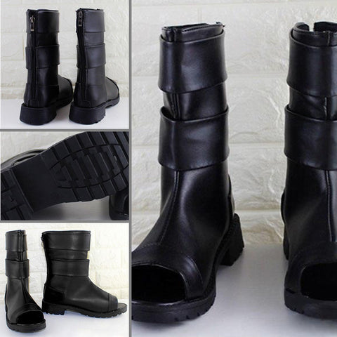 Anime Ninja PU Leather Boots
