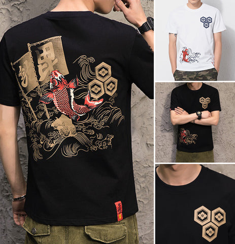 Traditional Japanese Design T Shirts
