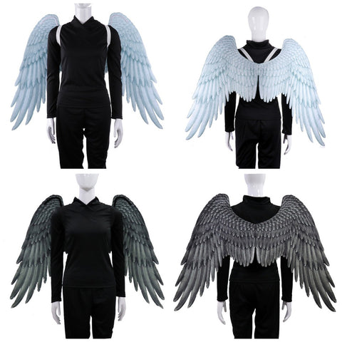 PU Foam Cosplay Wings 2 Differnet Colors