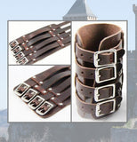 Cow Leather 4 Strip Bracer