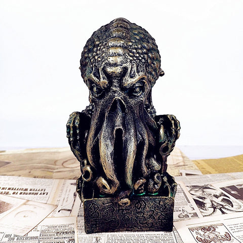 Cthulhu Resin Statue 8.5 Inches / 20.32 Centimeter