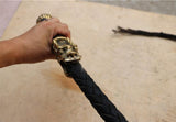 Dragon Head Bull Leather Whip
