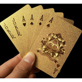 24K Foil Golden Playing Cards Deck