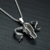 Baphomet Stainless Steel Necklace