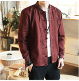 Chinese Style Cotton Button Jacket