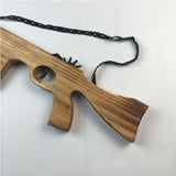 Rubber Launcher Wooden Guns 3 Styles