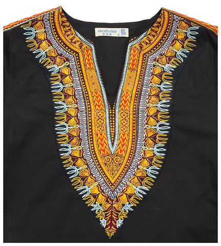 Spirit Of The Panther Dashiki Cotton Shirt