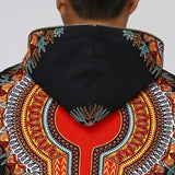 Spirit Of The Panther Dashiki Zipper Hoodie Cotton Jacket