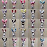 Plush Bunny Ears, Tail & Bow Sets
