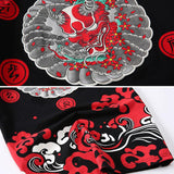 Japanese Devil Pattern Shirts