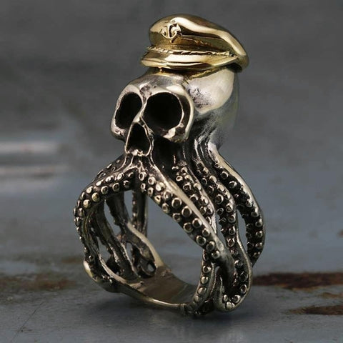 Cthulhu Ring V2: The Madness At Sea Cthulhu Ring Stainless Steel
