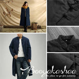 Traditional Button Coat Cotton