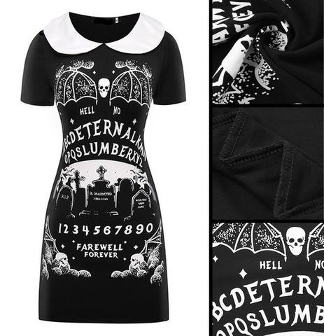 Ouija Style Dress Of Darkness