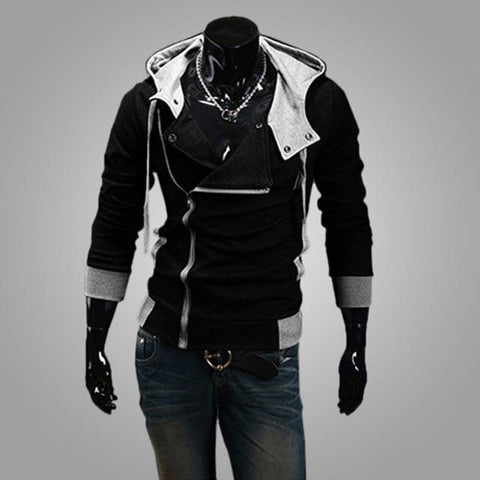 Side Vest Zipper Hoodies Collection