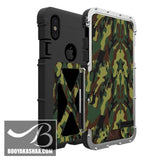 High-Quality Armor Flip Case For iPhones (Link For Samsung Below)