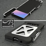 High-Quality Armor Flip Case For Samsung Phones (Link For iPhones Below)