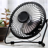Mini Metal  Protable PC Laptop USB Fan Ventilator 360 Degree Rotation Ultra-quiet
