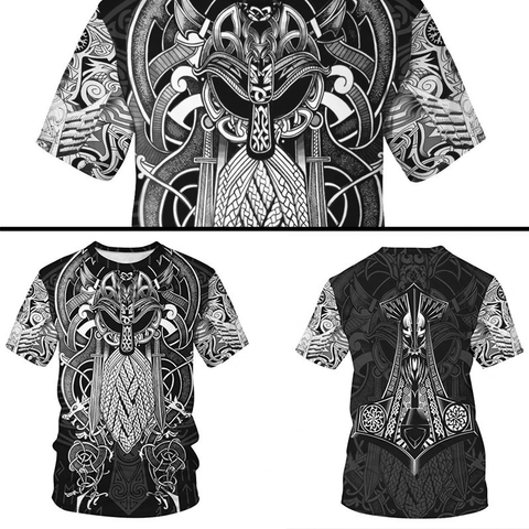 Norse / Viking Symbols & Patterns Shirt Collection
