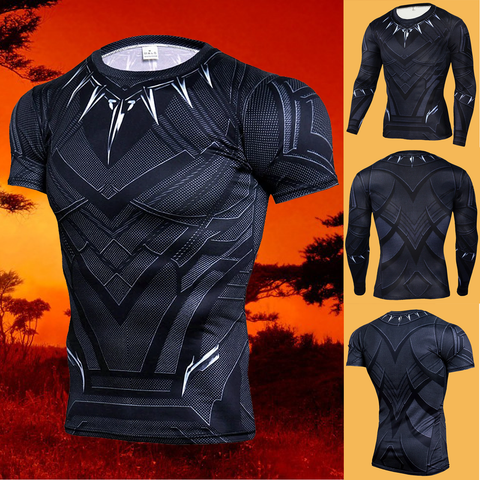 Wakandian Warrior Short & Long Sleeve Shirts