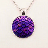 Wholesale Glass Dome Necklace Dragon Egg Pendant Necklace