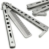 Stainless Steel Butterfly Comb
