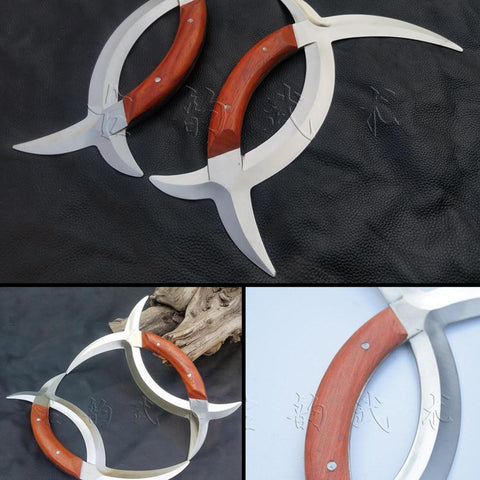 Baguazhang Deer Horn Knives - Not Sharpened