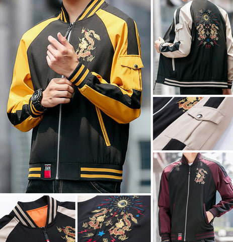 Dragon Embroidery Jackets