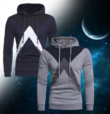 Federation Hoodies With Zipper Pockets