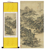 Mountain And River Chinese Painting & Calligraphy Scrolls