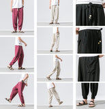 Linen Uni Color Pants Collection
