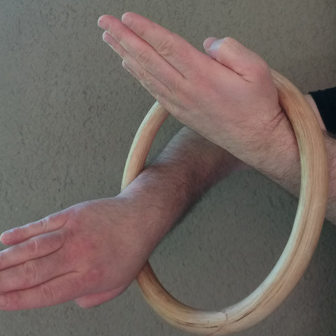 Rattan Ring For Kung Fu Bridge Training