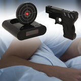 Infrared Gun Alarm Clock (Customizable Sound / Game Modes)