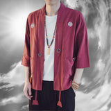 Anime Warrior Linen Shirt Jackets