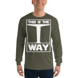 THIS IS THE WAY Unisex Long Sleeve Shirt