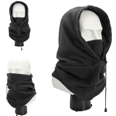 Hooded Windproof Ninja Fleece Balaclava