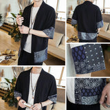 Patchwork Linen Jacket Shirts
