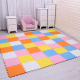 EVA Foam Floor Squares Several Colors