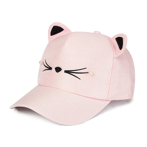 Kitten Baseball Cap Adjustable