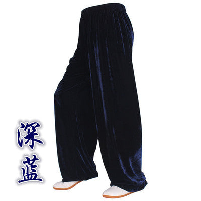 Velour Cloth Kung Fu / Wushu / Taiji / Yoga Pants