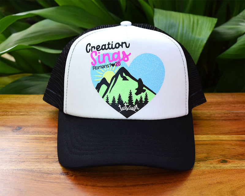 Women's Creation Sings Trucker Hats