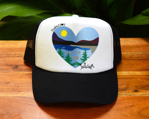 The Lord Refreshes my Soul Women's Trucker Hat