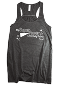 Super Power Flowy Racerback Tank