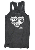 The Lord is a Warrior Flowy Racerback Tank