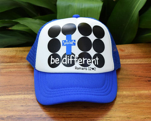 Be Different Boy's Trucker Hat