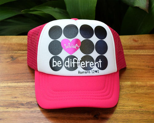 Be Different Girl's Trucker Hat