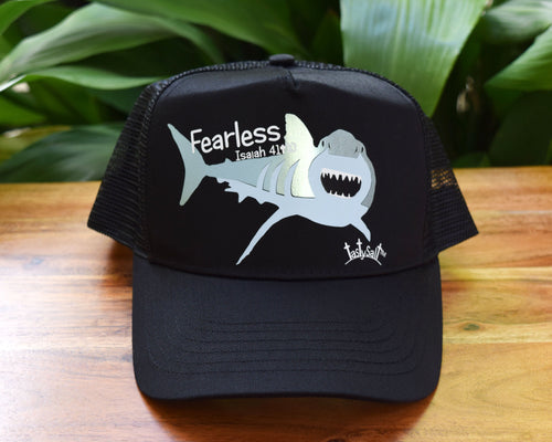 Fearless Great White Shark Women's Trucker Hat