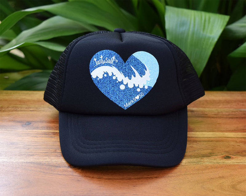 Salty Wave Summer Girl's Trucker Hat